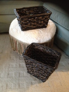 bedroom baskets